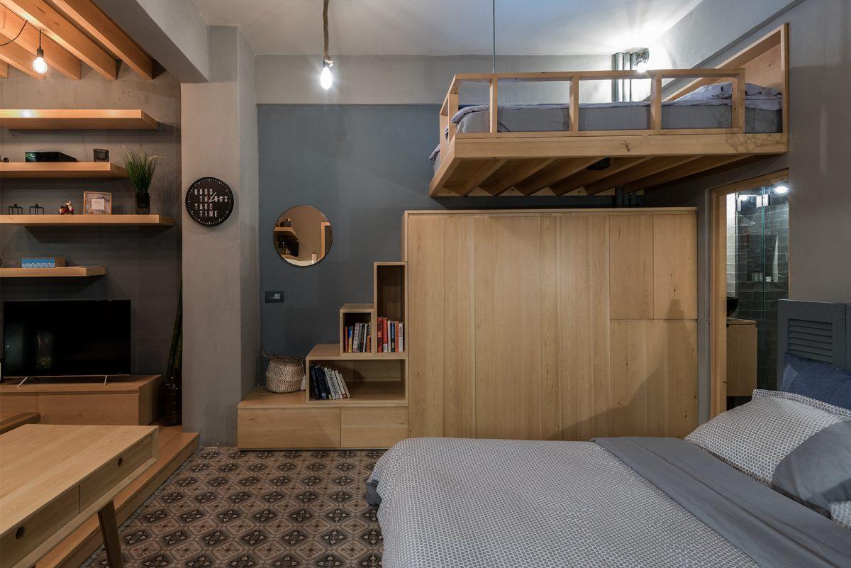 Loft in Ashrafieh Bedroom Photo