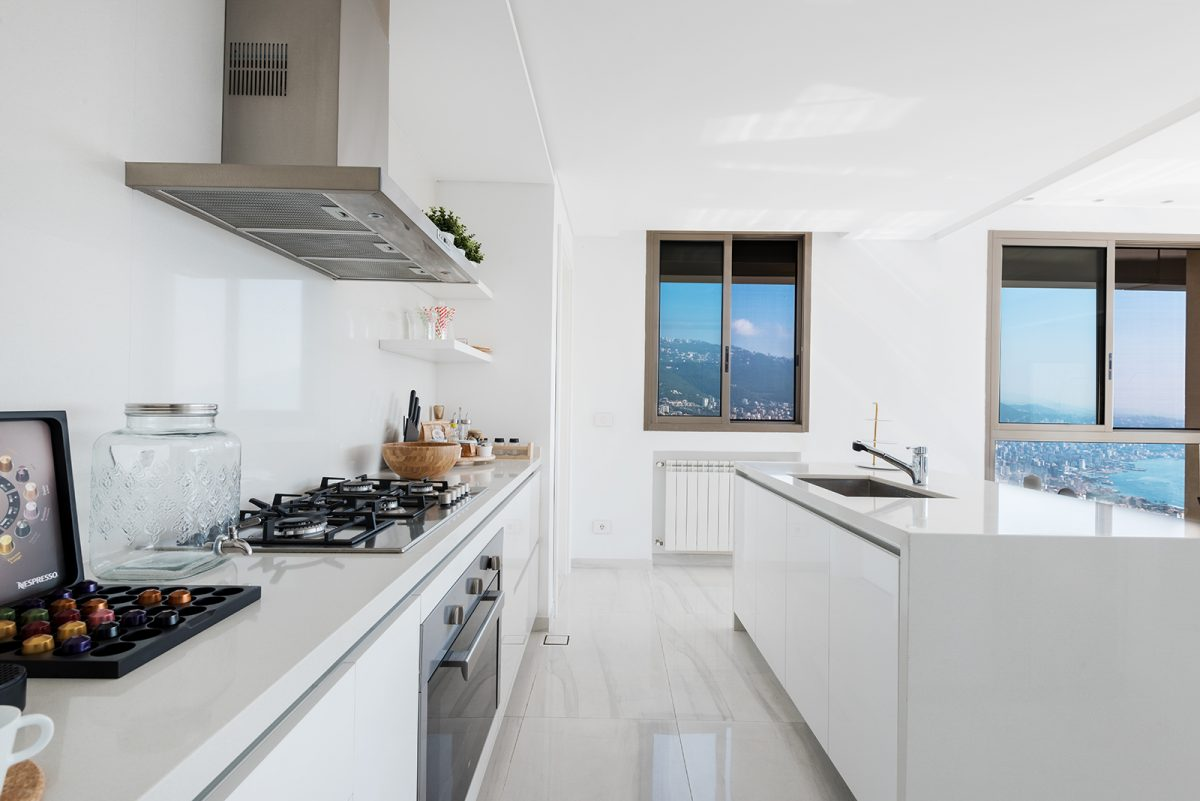 Kitchen Photo Apartment in Adma Lebanon