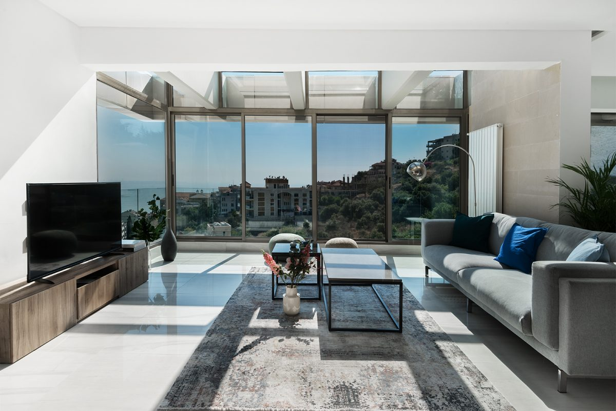 Sitting Room Photo Apartment in Adma Lebanon